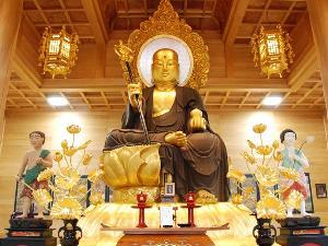 鎌沢の大仏・丈六延命地蔵菩薩像(じょうろくえんめいじぞうぼさつぞう)