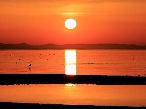 サロマ湖の夕日絶景スポット キムアネップ岬