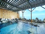 サロマ湖を臨む露天風呂