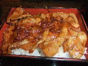 サロマ豚を使った豚丼