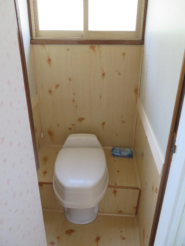 1階トイレ(No.7井寒台一戸建て住宅(3DK))