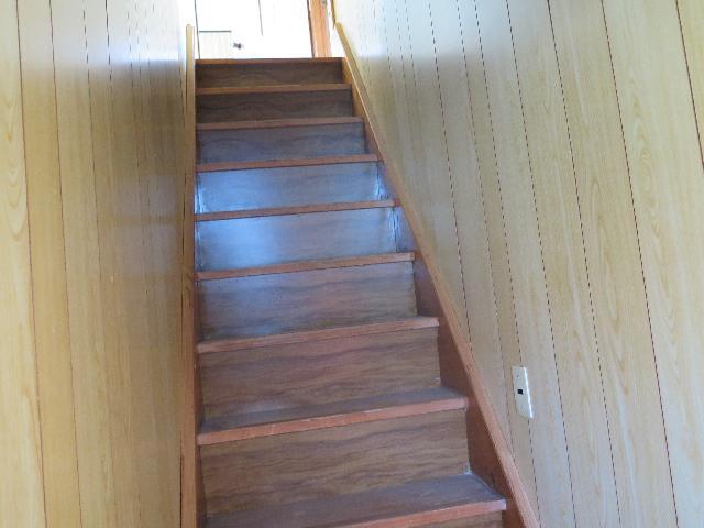 階段(No.7井寒台一戸建て住宅(3DK))
